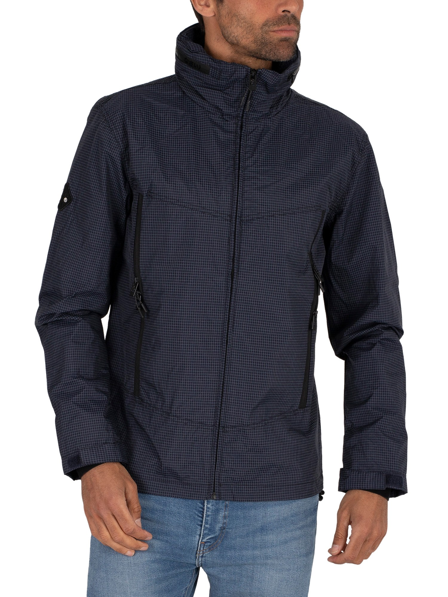 Superdry Altitude Wind Hiker Jacket - Darkest Navy
