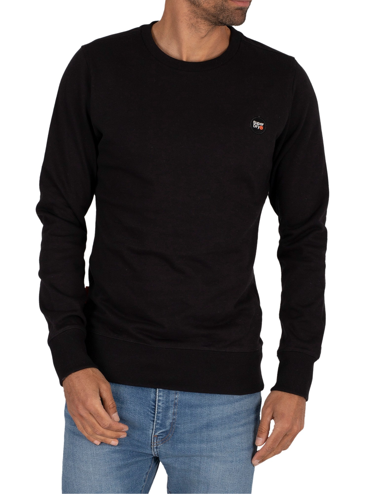 Superdry Collective Sweatshirt - Black