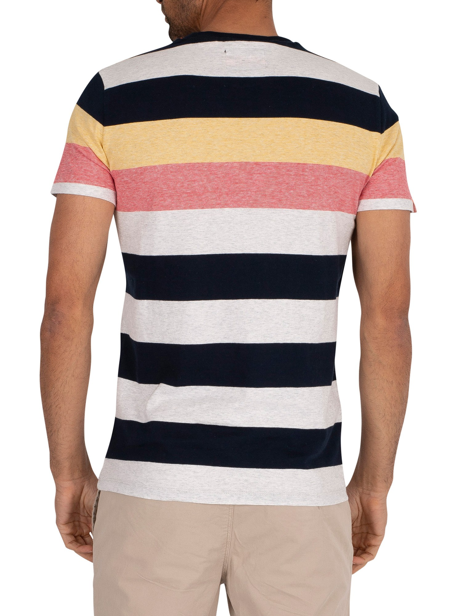 Superdry Hoop Stripe T-Shirt - Eclipse Navy