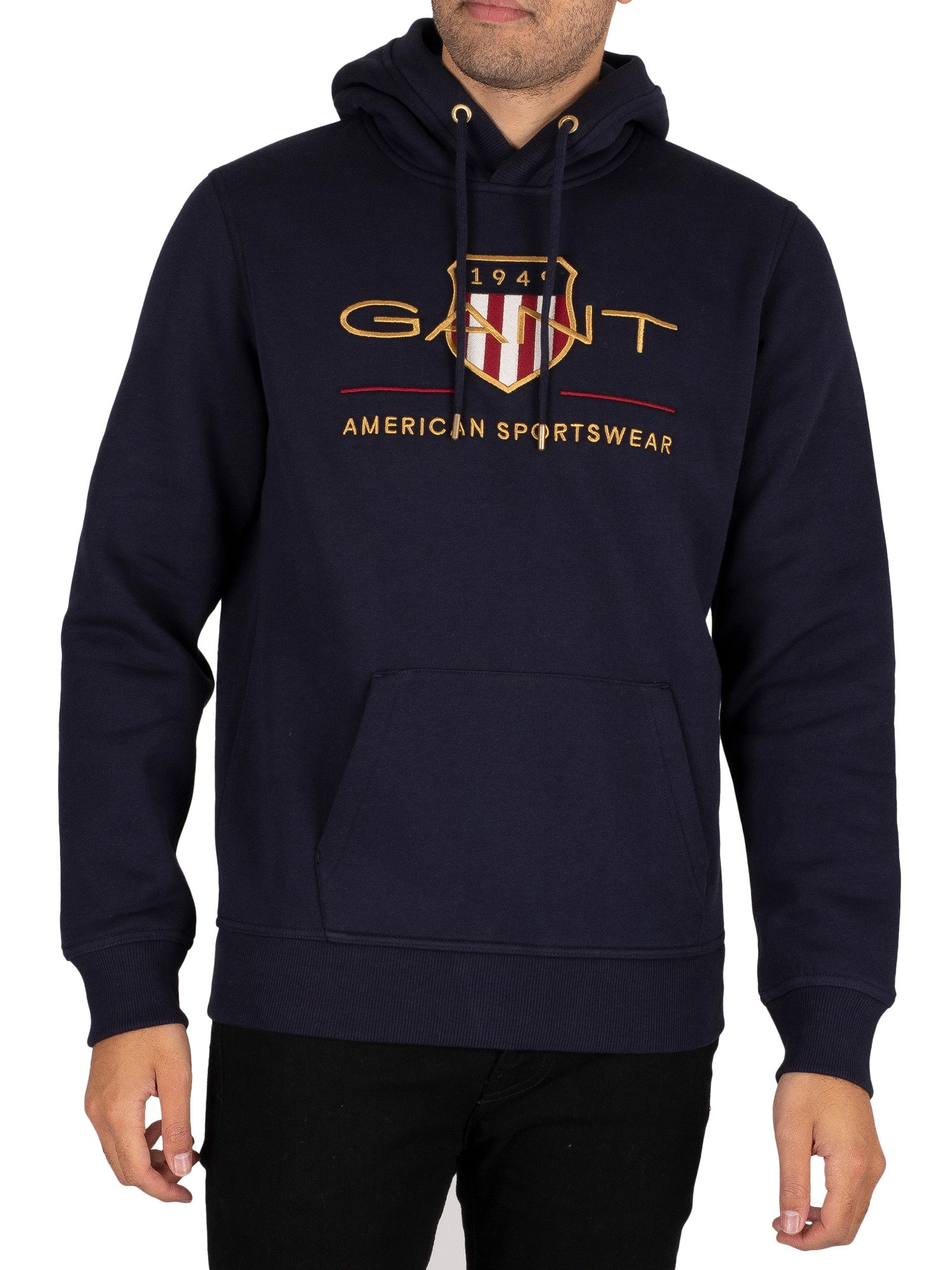 Archive Shield Pullover Hoodie