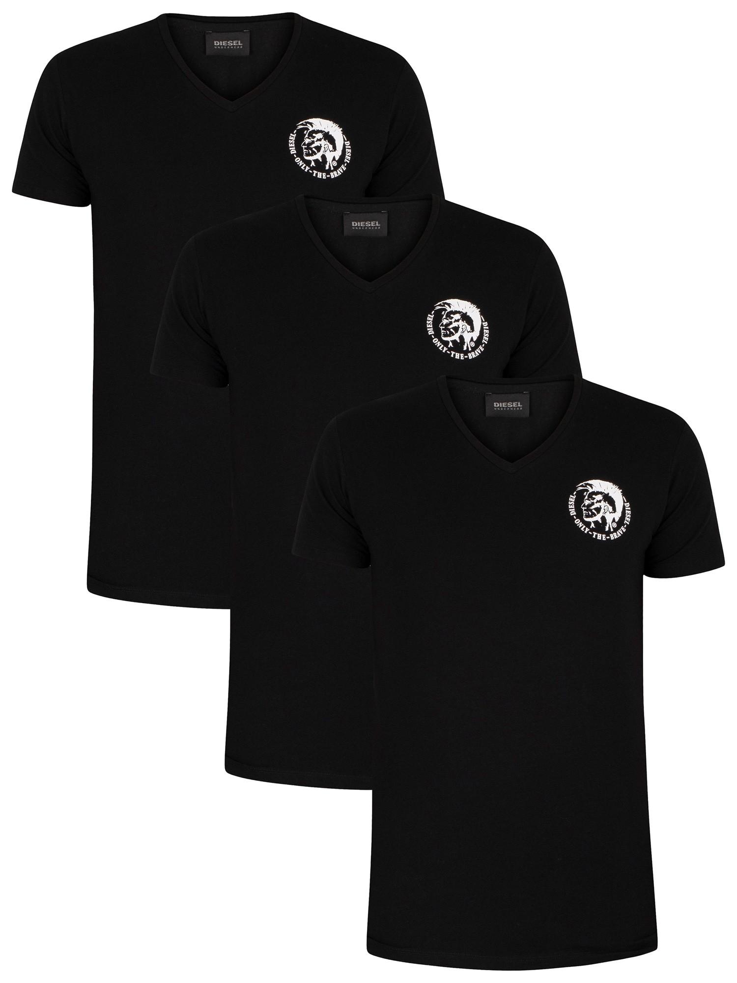 3 Pack Michael Lounge V-Neck T-Shirts