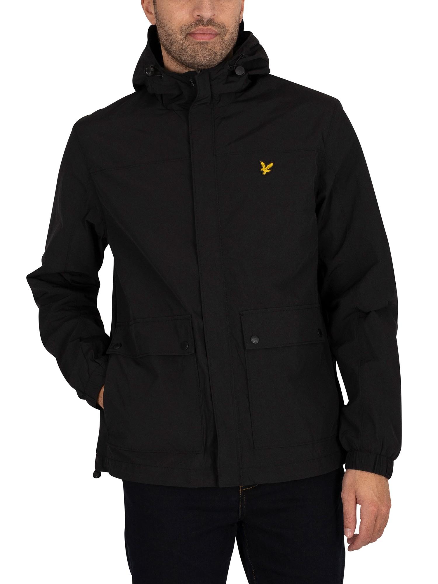 Hooded Pocket Jacket