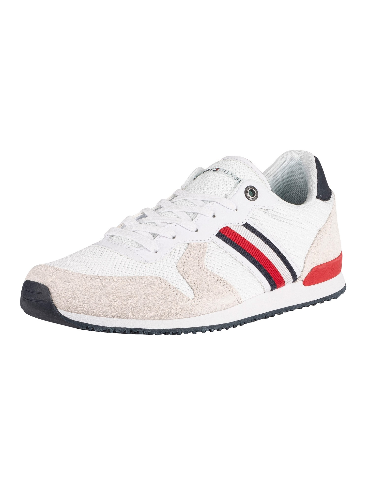 Iconic Material Mix Runner Trainers