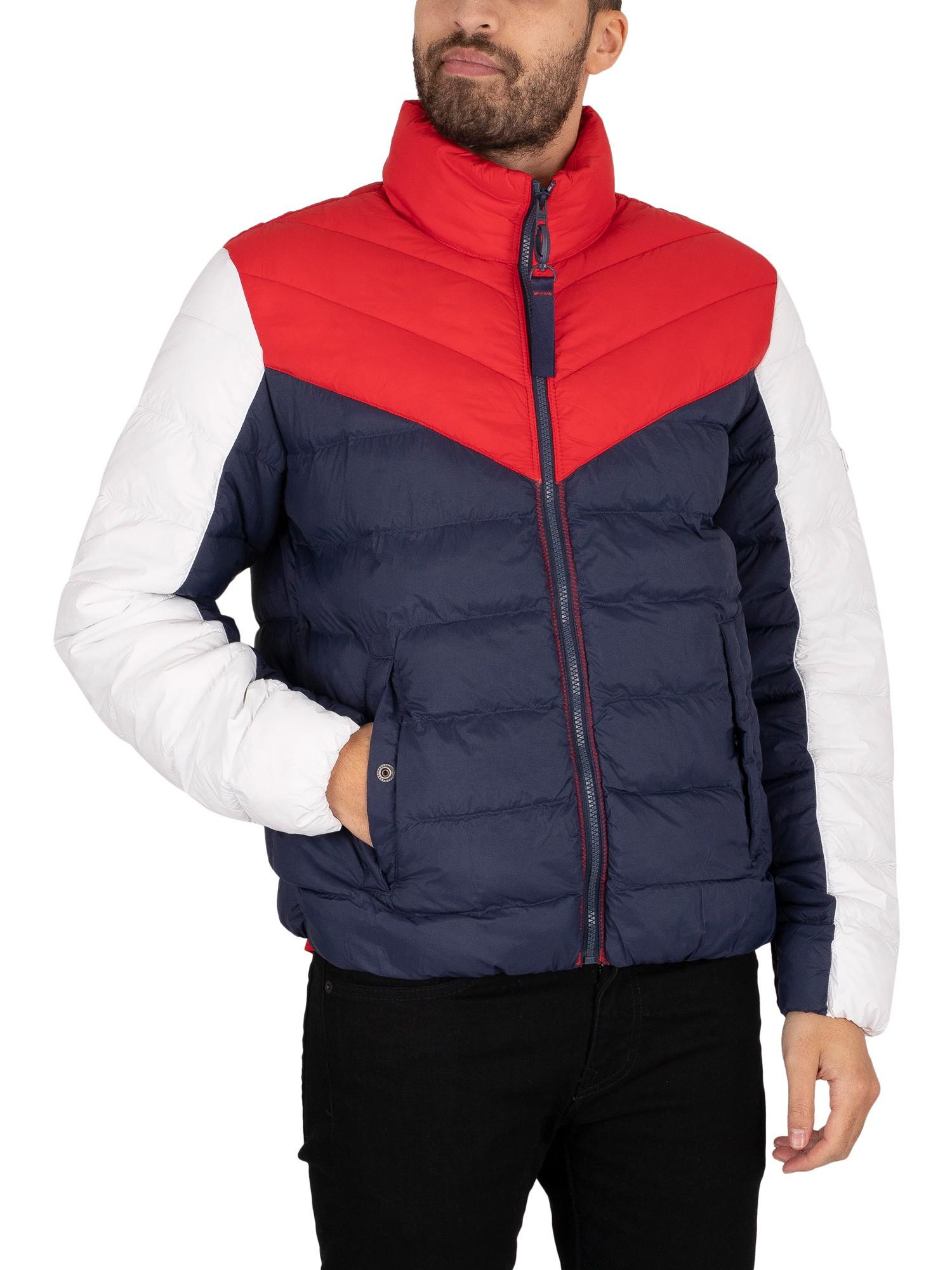 Light Colourblock Padded Jacket