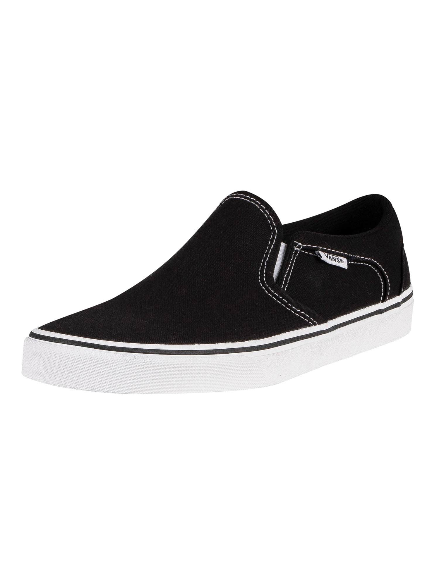 Asher Canvas Trainers