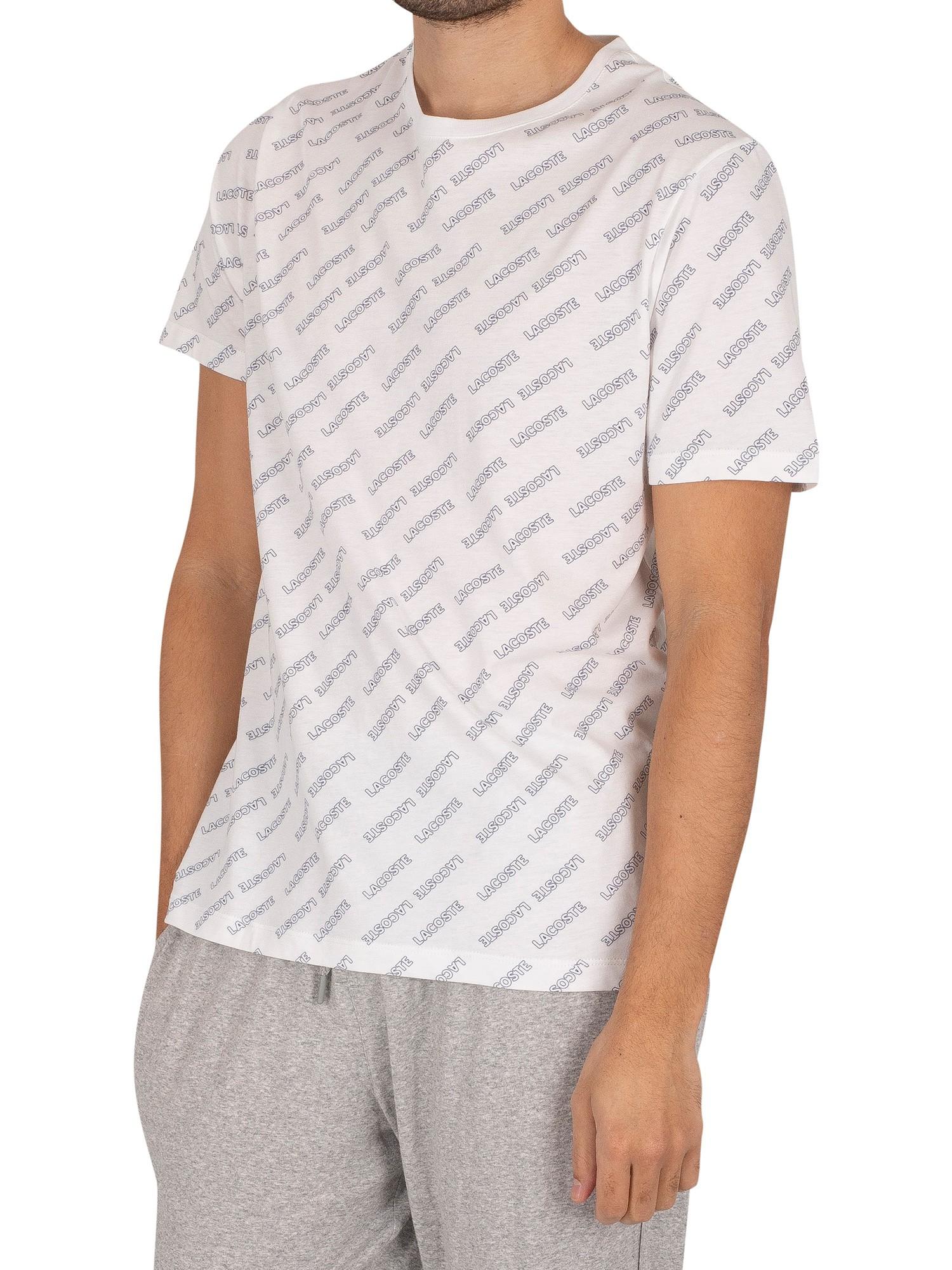 Logo Pattern Lounge T-Shirt