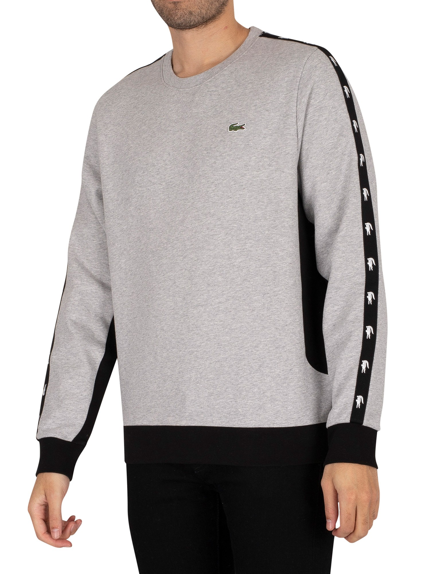 Colourblock Fleece Sweatshirt
