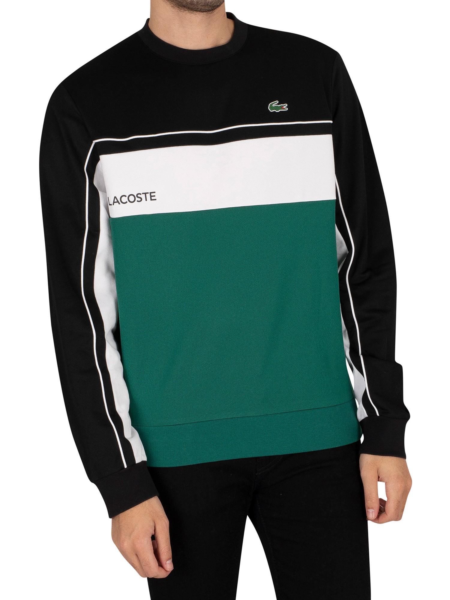 PORT Resistant Colourblock Pique Sweatshirt
