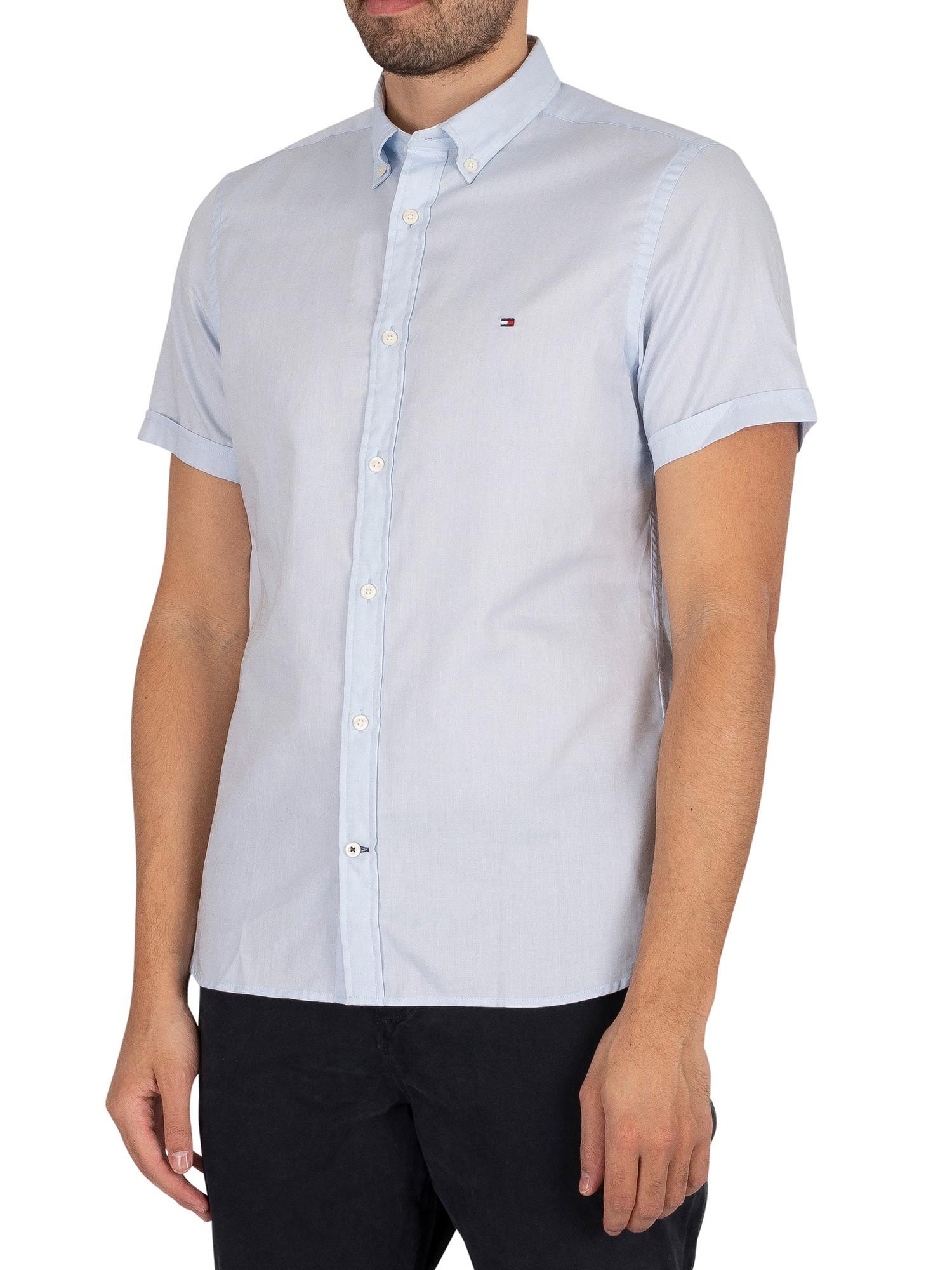 Slim Travel Oxford Shortsleeved Shirt