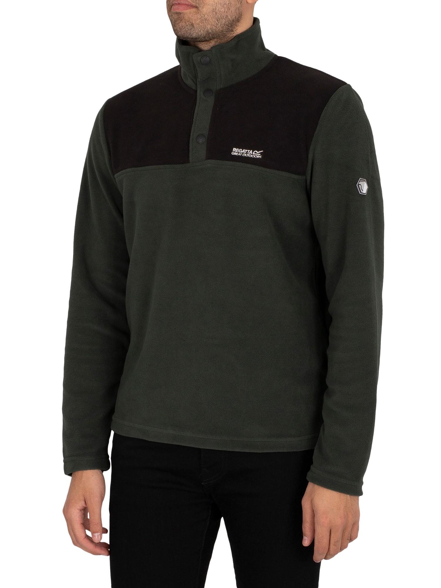 Melrow Button Neck Sweatshirt