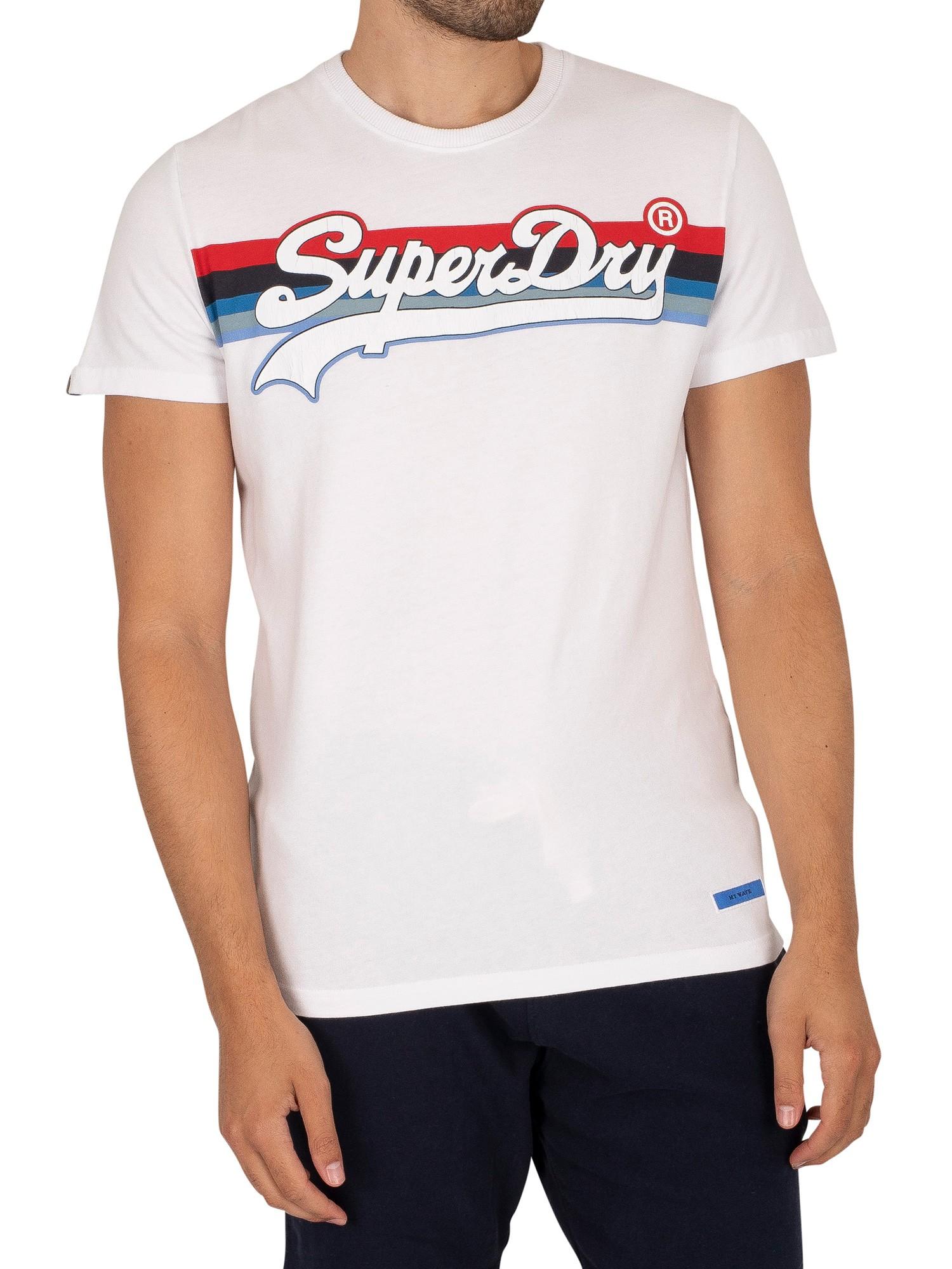Vintage Logo Stripe T-Shirt