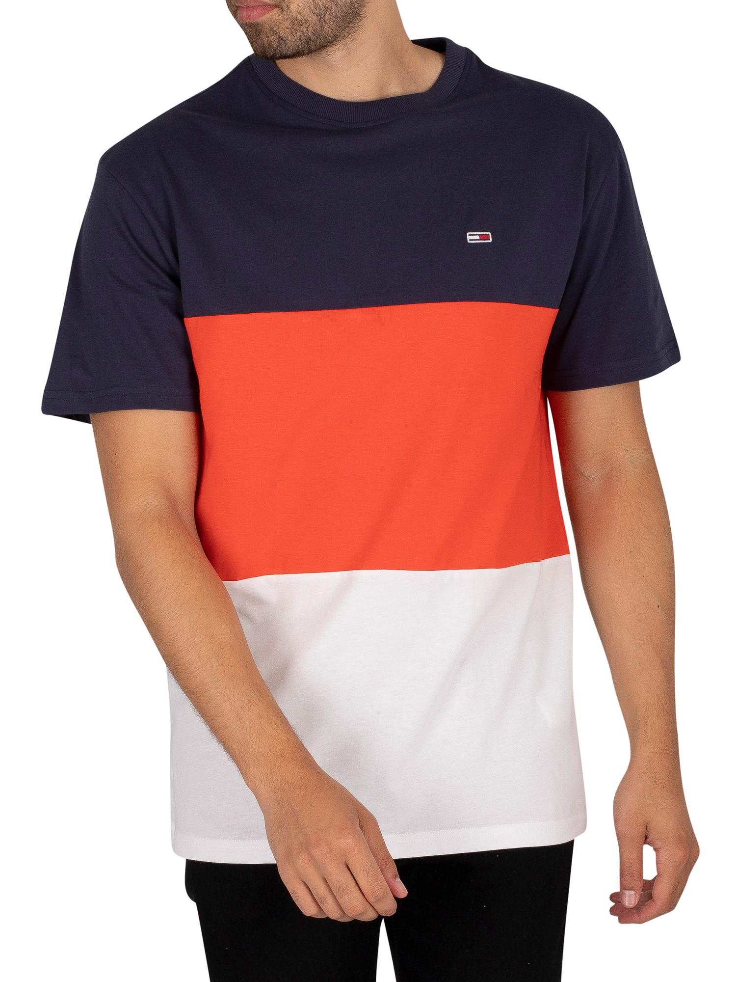Classic Colour Block T-Shirt