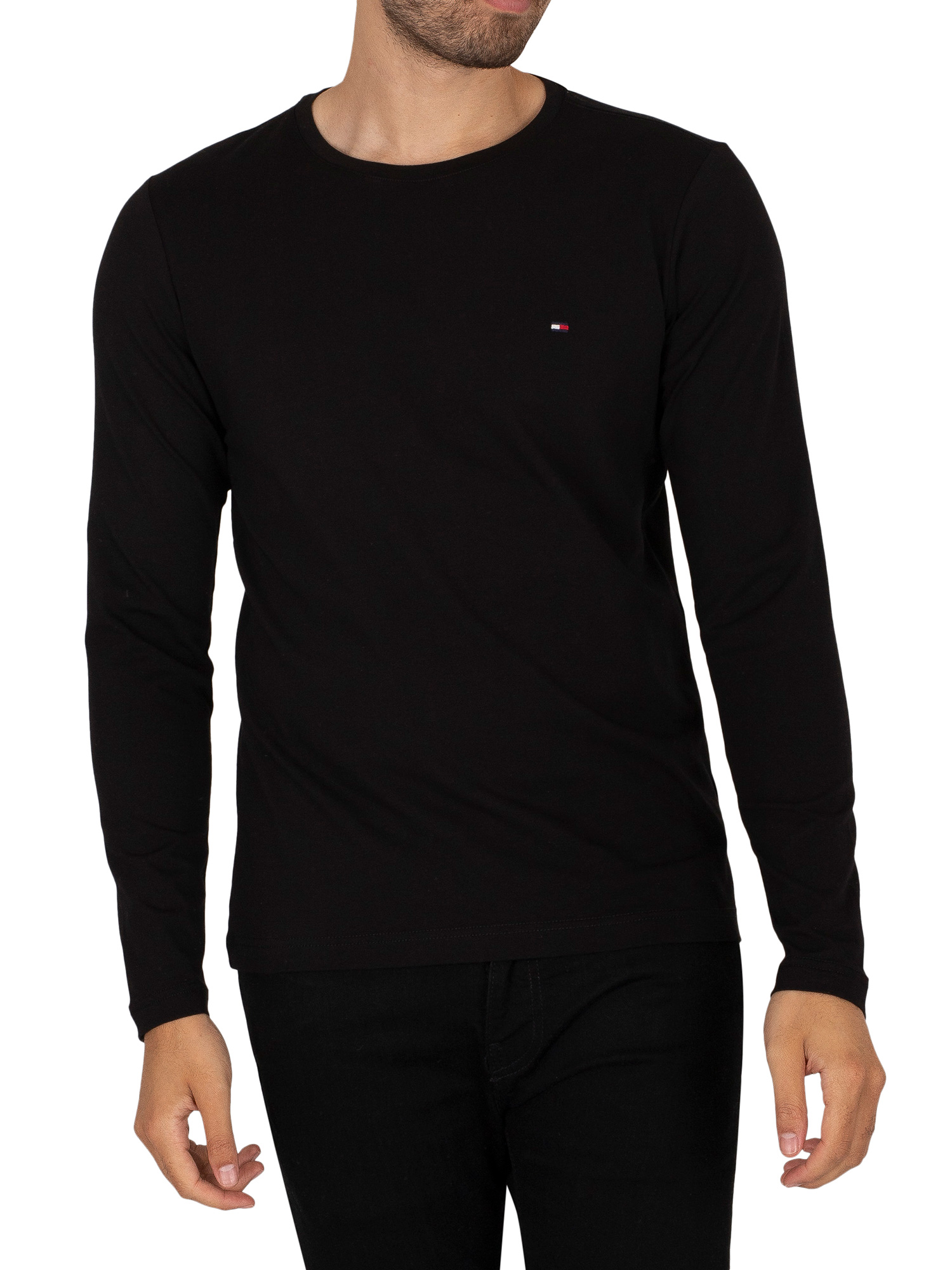 Stretch Slim Fit Longsleeved T-Shirt