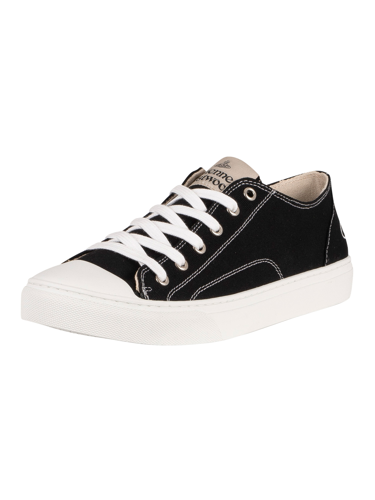 Plimsoll-Low-Top-Canvas-Trainers