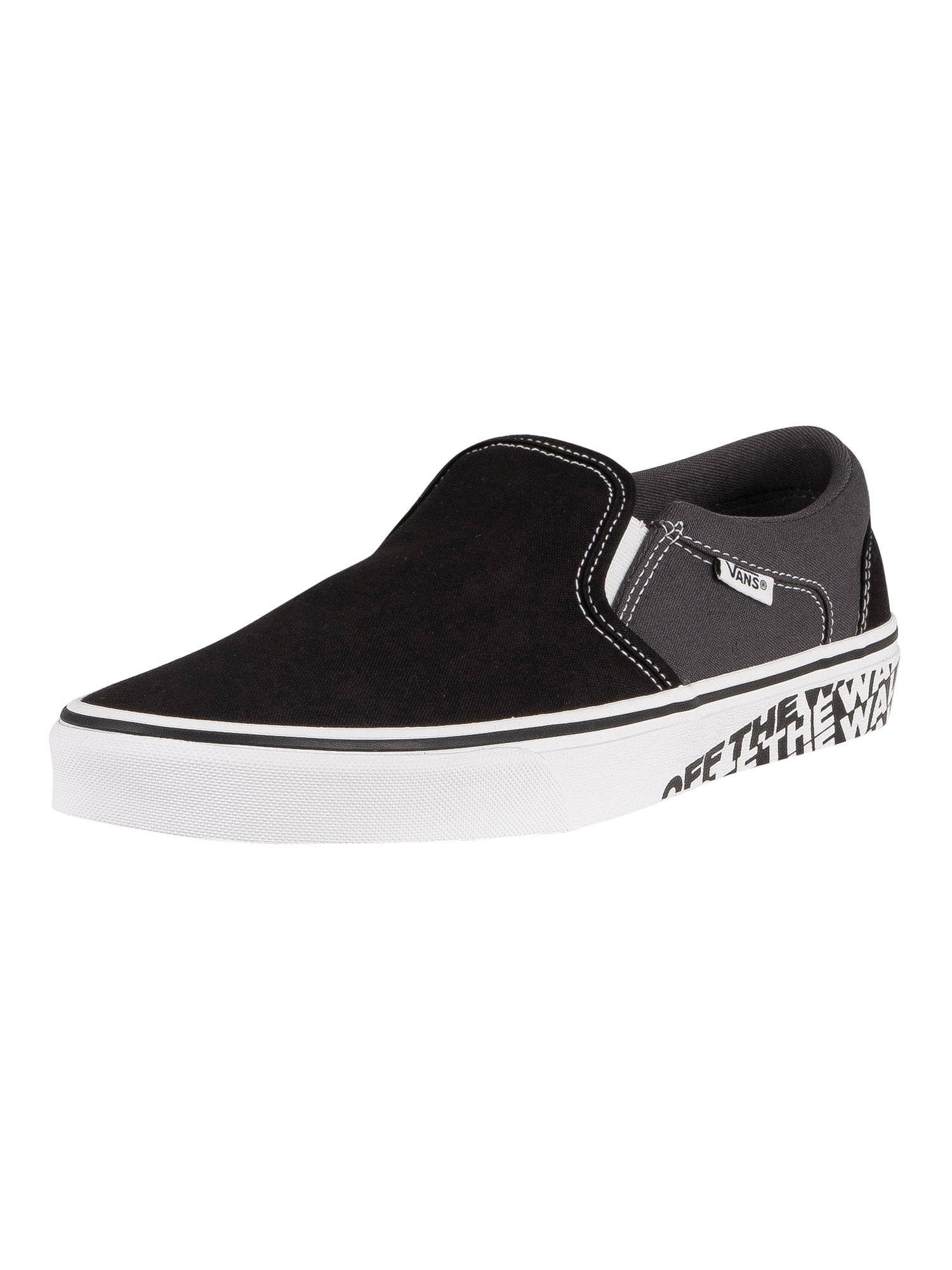 Asher Sidewall Slip On Trainers