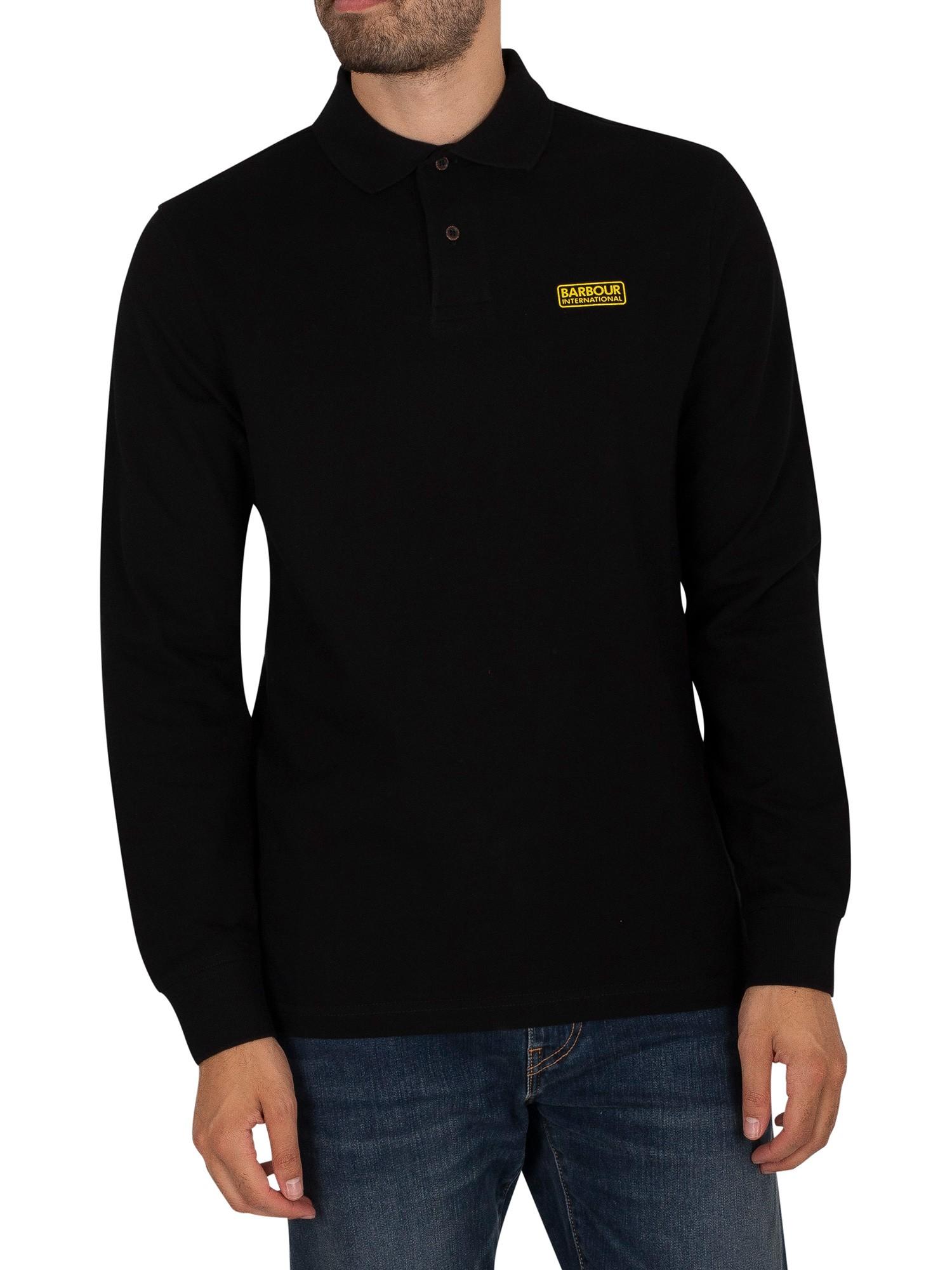 Longsleeved Polo Shirt