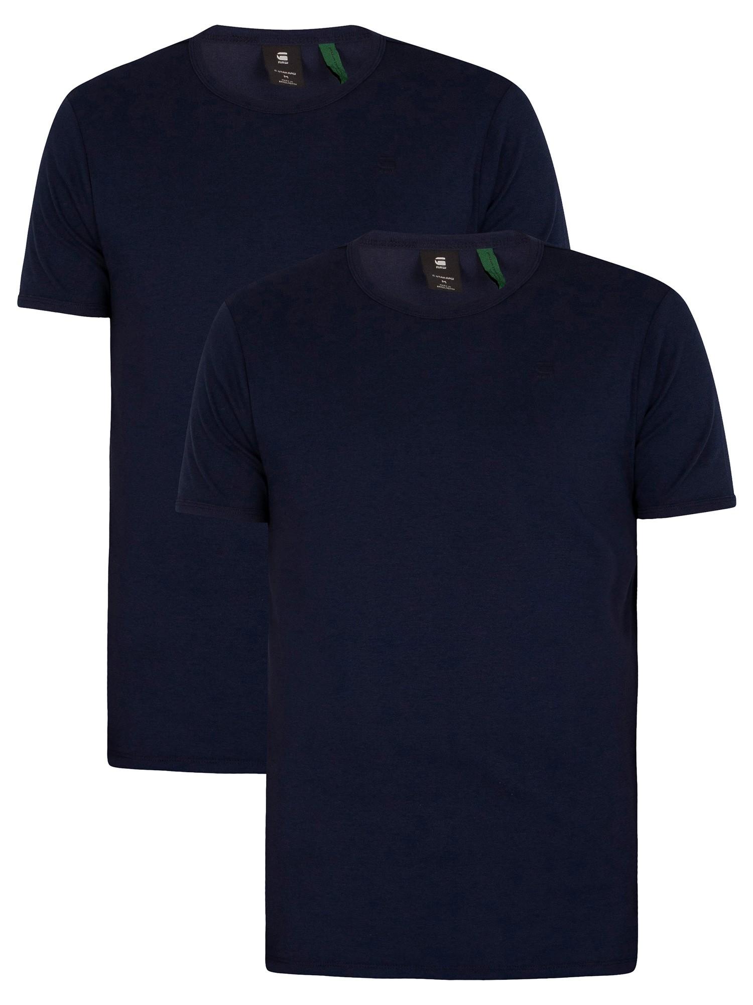 2 Pack Crew Slim T-Shirts