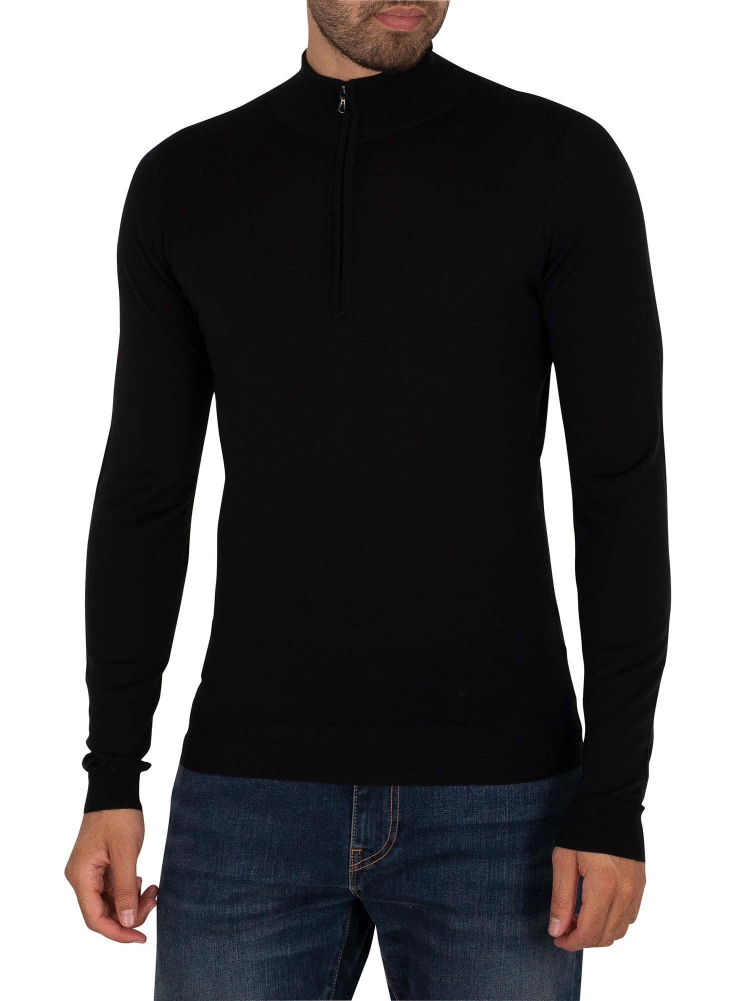 Clothing Barrow Zip Pullover Knit