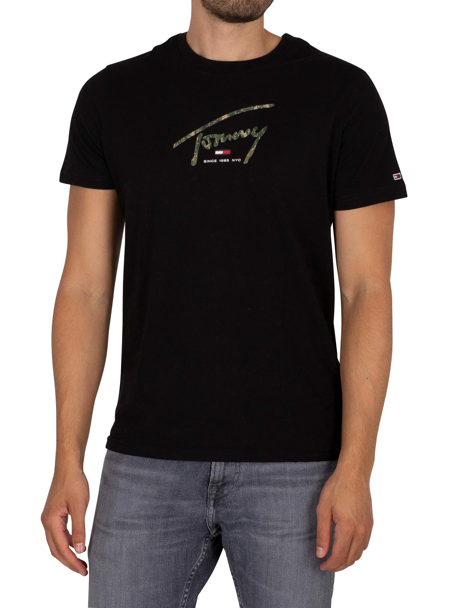 Hand Written Linear Logo T-Shirt