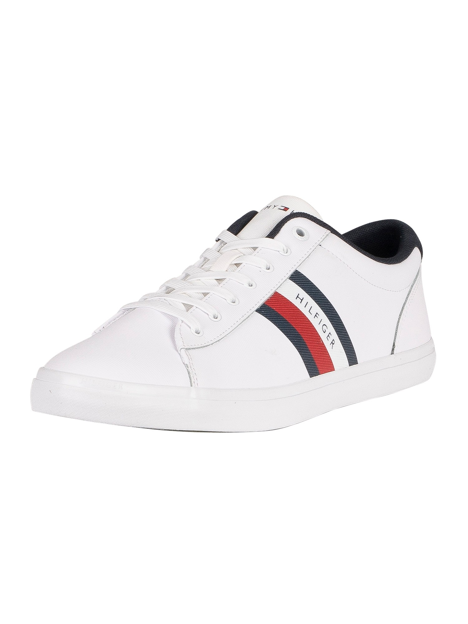 Essential Leather Stripes Trainers