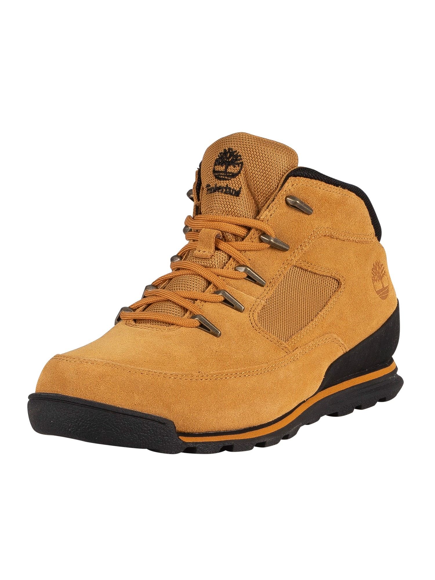 Euro Rock Mid Hiker Suede Boots