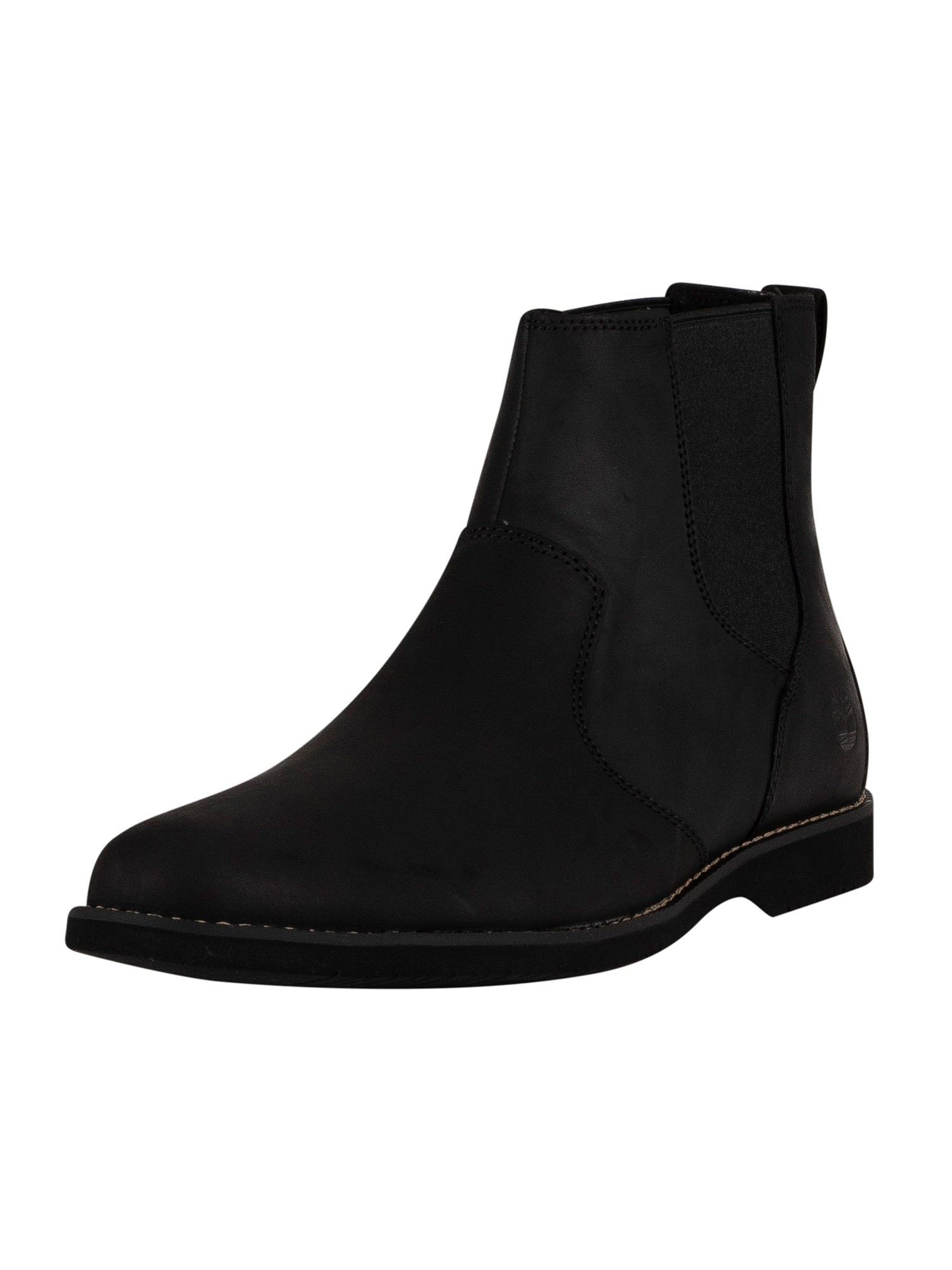 Woodhull Leather Chelsea Boots