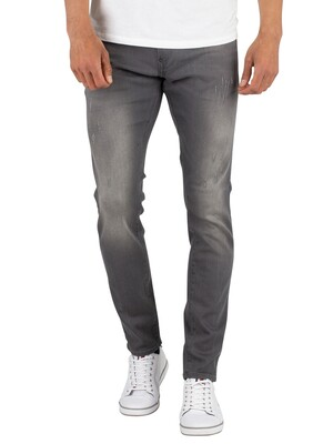 G-Star Light Aged Destroy Revend Super Slim Jeans