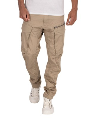 G-Star Rovic Zip 3D Straight Tapered Cargos - Dune
