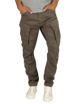 G-Star Rovic Zip 3D Straight Tapered Cargos - GS Grey