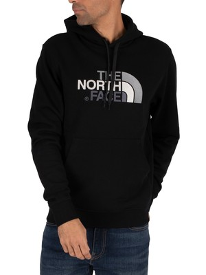 The North Face Black/Black Drew Peak Graphic Hoodie