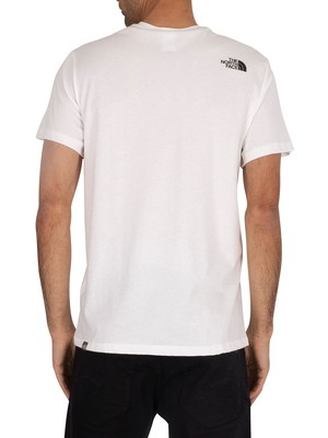 The North Face Simple Dome Logo T-Shirt - White