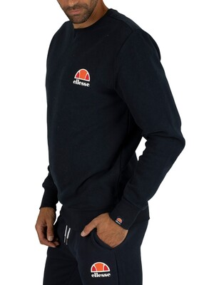 Ellesse Dress Blues Diveria Left Chest Logo Sweatshirt
