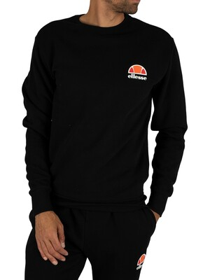 Ellesse Anthracite Diveria Left Chest Logo Sweatshirt