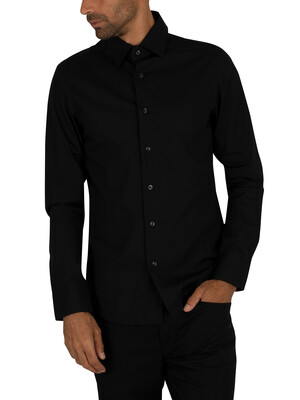 G-Star Black Core Slim Longsleeved Logo Shirt