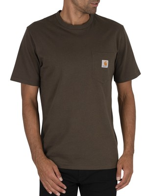 Carhartt WIP Pocket T-Shirt - Cypress
