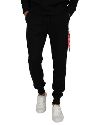 Alpha Industries Black X-Fit Slim Cargo Joggers