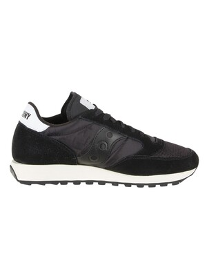 Saucony Jazz Original Vintage Trainers - Black/Black