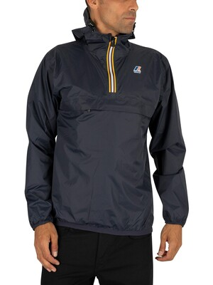 K-Way Blue Depth Le Vrai 3.0 Leon Jacket