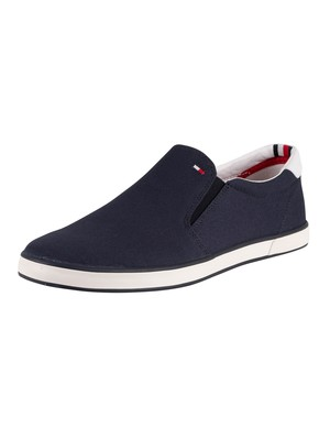 Tommy Hilfiger Iconic Slip On Trainers - Midnight