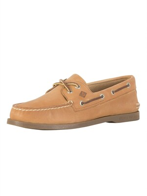 Sperry Top-Sider 2 Eye Boat Shoes - Sahara