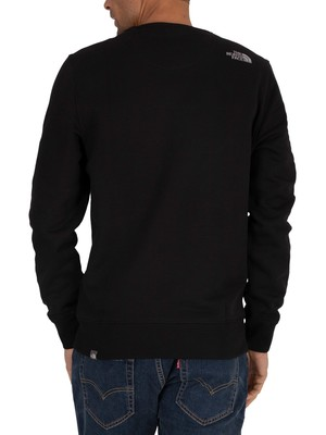 The North Face Drew Peak Sweatshirt - Black