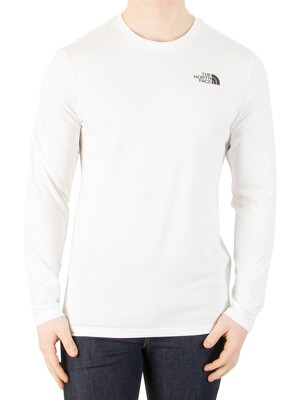 The North Face Longsleeved Easy T-Shirt - White