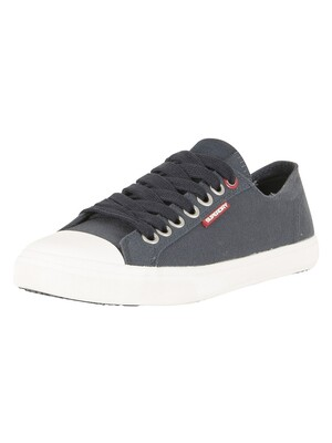 Superdry Low Pro Trainers - Dark Navy