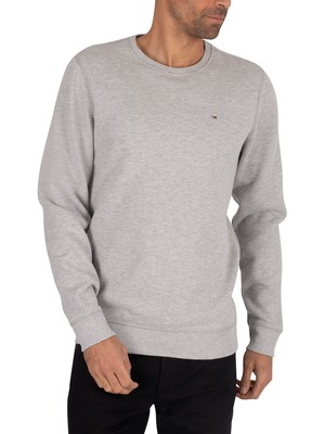 Tommy Jeans Original Sweatshirt - Light Grey Marl