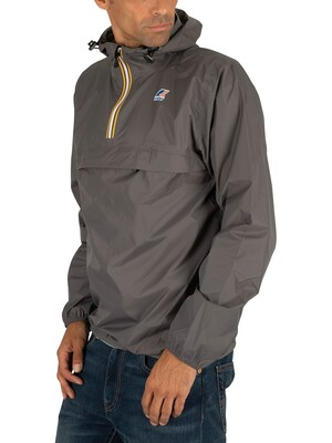 K-Way Le Vrai 3.0 Leon Jacket - Grey Smoke
