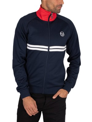 Sergio Tacchini Dallas Track Jacket - Navy/White