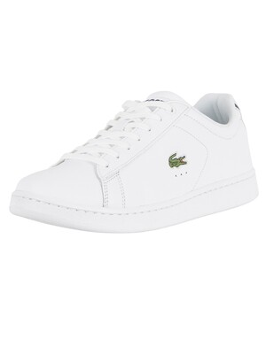 Lacoste Carnaby Evo BL 1 SPM Leather Trainers - White