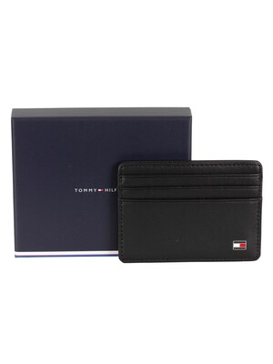 Tommy Hilfiger Eton Card Holder - Black