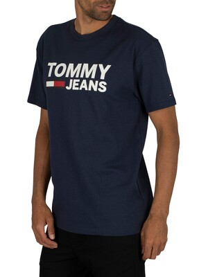 Tommy Jeans Tommy Classics T-Shirt - Black Iris