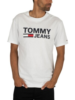 Tommy Jeans Tommy Classics T-Shirt - Classic White